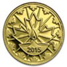 2015 Canada Proof Gold $0.25 Diwali: Festival of Lights #49034v2