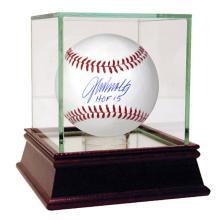 JOHN SMOLTZ AUTOGRAPHED MLB BASEBALL INSCRIBED