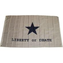 LIBERTY OR DEATH 3X5 FLAG #16701v2