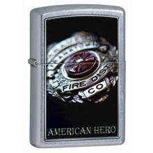 GENUINE ZIPPO LIGHTER AN AMERICAN HERO #14130v2
