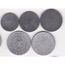 Germany Third Reich 5 coin lot #13493v2
