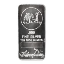Random Manufacturer Silver Bar 10 oz #13533v2