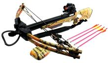 175LBS WOODLAND CAMOUFLAGE COUMPOUND HUNTING CROSSBOW #39696v2
