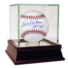 BERT BLYLEVEN AUTOGRAPHED MLB BASEBALL INSCRIBED