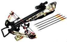 175LBS WOODLAND CAMOUFLAGE COMPOUND HUNTING CROSSBOW #39697v2
