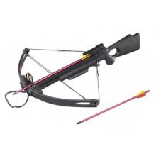 150LBS ALL BLACK HUNTING CROSSBOW COMES W/2 17