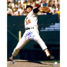 JIM PALMER AUTOGRAPHED 16X20 PHOTO INSCRIBED