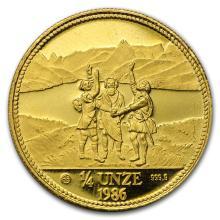 1/4 oz Gold Round - Secondary Market #43183v2