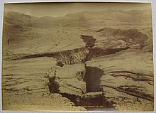 BURTON BROS  Milford Sound, New Zealand  A group of five photographs, albumen prints, circa