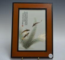 Chinese Porcelain Plaques