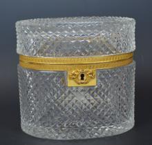 Crystal Box with Key