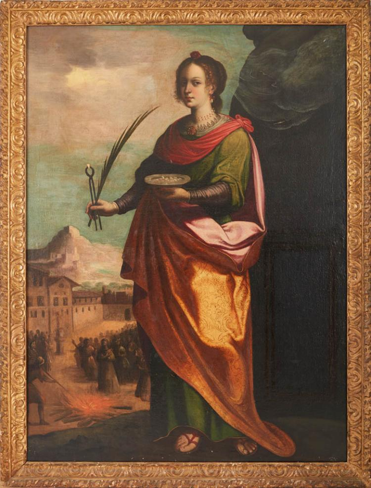 Fransisco de Zurbaran - Sainte Appoline d Alexandrie (1598-1664) ESTIMATION SUR DEMANDE - Estimate provided upon request