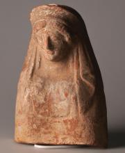 Protomé-buste féminin
