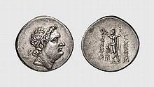 BITHYNIA, SILVER TETRADRACHM OF PRUSIAS II