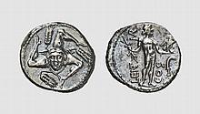 REPUBLIC, SILVER DENARIUS OF L. CORNELIUS LENTULUS