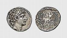 SYRIA, SILVER TETRADRACHM OF SELEUCOS VI