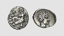 CILICIA, SILVER OBOL OF TARSOS