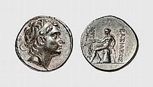 SYRIA, SILVER TETRADRACHM OF ANTIOCHOS III