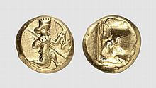 PERSIA, GOLD DARIC OF THE ACHAEMENID KINGS