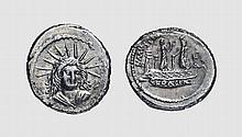 REPUBLIC, SILVER DENARIUS OF L. MUSSIDIUS LONGUS