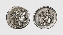 THRACE, SILVER TETRADRACHM OF LYSIMACHOS