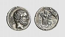 REPUBLIC, SILVER DENARIUS OF P. CORNELIUS
