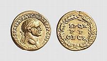 EMPIRE, GOLD AUREUS OF VESPASIAN
