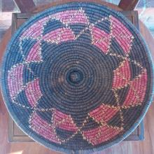 Native American Woven Basket (Authentic)