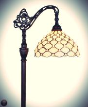 Tiffany Style 62-inch Jeweled Reading Floor Lamp