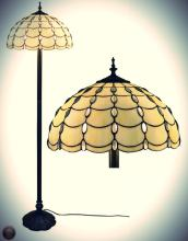 Tiffany Style Cascades Floor Lamp 61 Inches Tall