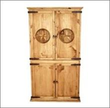 7th Step?s Star Accented Armoire