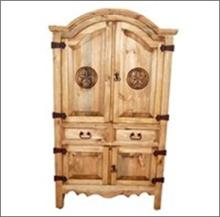 7th Step?s Sierra Small Star Accented Armoire