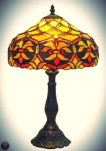 Tiffany Style Floral Design 19-Inch Table Lamp