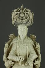 CHINESE CARVINGS & ASIAN WORKS OF ART