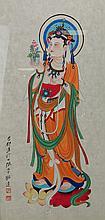 Chinese Painting Guanyin Zhang Daqian (1899-1983)