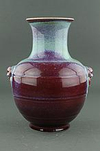 Chinese Junyao Style Porcelain Vase