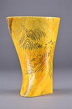 Chinese Bone Carved Cup