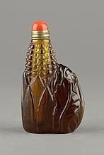 Chinese Peking Glass Snuff Bottle 19th Century