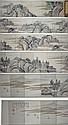 Small Chinese Watercolour Scene Book by Gu Yun