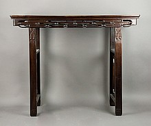 FINE CHINESE FURNITURE & WORKS OF ART