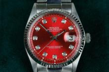 1967 Rolex Oyster Perpetual Datejust Salmon Roman