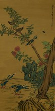 Chinese Painting of Songbirds Signed & Sealed