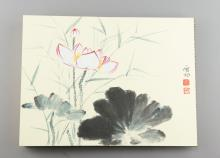 Chinese Watercolour Sketchbook Qi Gong Seal