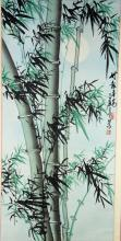 Chinese Bamboo Painting Signed & Sealed