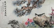 Chinese Bird & Landscape Signed Group of 8 Artists