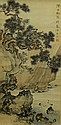 Chinese Painting of Landscape by Chen Shaomei