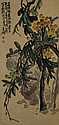 Chinese Painting of Fruit Signed Hu Chang Shao