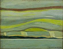 Yvonne Mckague Housser Oil Panel Canada 1898-1996