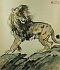 Watercolour on Paper Scroll Xu Beihong 1895-1953, Xu Beihong, $1,000