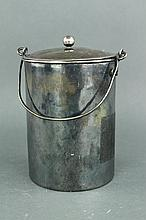 Chinese Silver Teapot with Handle
